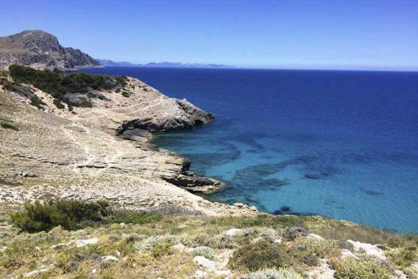 ruta Cala Mesquida Mallorca